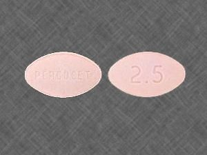 Percocet 2.5/325mg