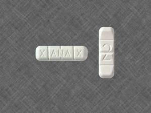White Xanax Bars - 2mg