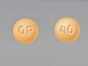 Oxycontin OP 40mg