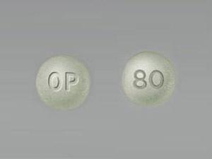 Oxycontin OP 80mg