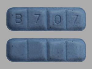 blue xanax bars