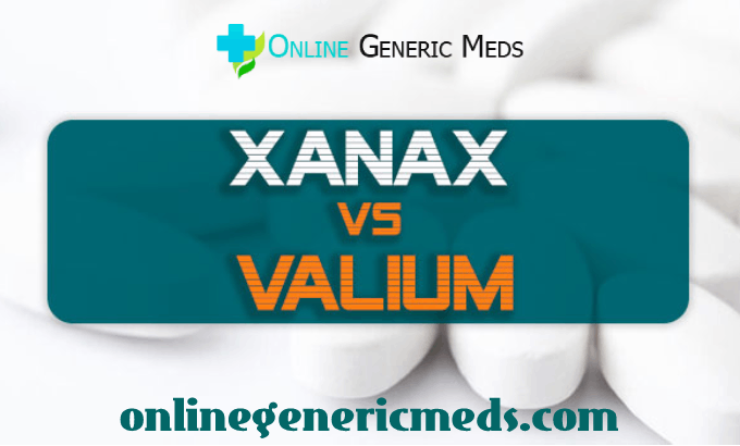 Difference Between Valium and Xanax